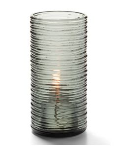 "Hollowick 48025S Typhoon Spun Glass 6-5/8""H Candle And Tealight Holder"