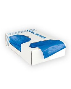 Heritage Bag A6043PX Blue Printed Healthcare Can Liners - 20-30 Gal