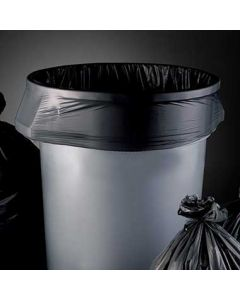 Heritage Bag H8053TK R01 AccuFit 55 Gal Black Roll Can Liners