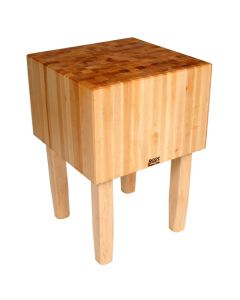 "John Boos AA01 16""D Maple Butcher Block - 18"" x 24"""