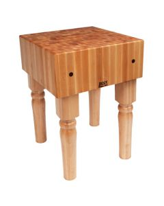 "John Boos AB01 10""D Maple Butcher Block - 18"" x 18"""