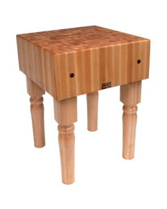 "John Boos AB07 10""D Maple Butcher Block - 30"" x 30"""