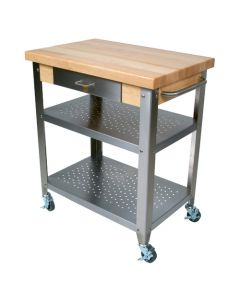 "John Boos Cucina Elegante Maple Cart, 20"" x 30"""