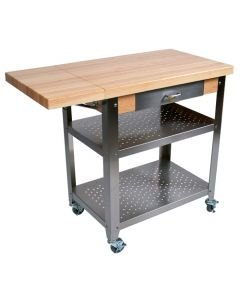 "John Boos Cucina Elegante Maple Cart, 20"" x 40"""