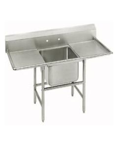 """John Boos E1S8-18-12T18-X  One Compartment Sink w/18"""" R&L drainboards"""