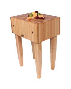 "John Boos PCA1 Pro Chef Maple Butcher Block, 18"" x 18"""