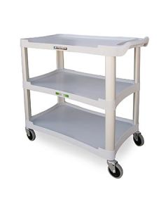 Lakeside 2501 Grey 3 Shelf Utility Cart