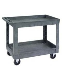 Lakeside 2523 Two Shelf Utility Cart, 500 lb capacity