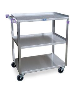 Lakeside 311 Stainless Steel 3 Shelf Utility Cart