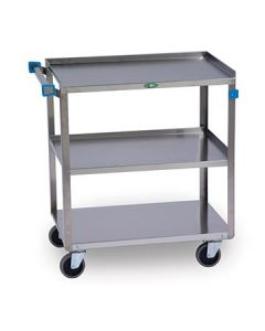 Lakeside 422 Stainless Steel 3 Shelf Utility Cart
