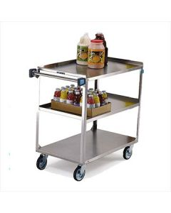 Lakeside 444 Stainless Steel 3 Shelf Utility Cart