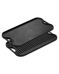 "Lodge Manufacturing Company LPGI3 Reversible Cast Iron Griddle, 20"" x 10 7/16"""