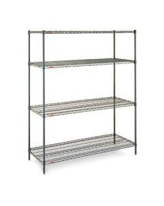 Metro EZ2436NK3-4 Super Erecta Metroseal Convenience Pk Shelving Unit