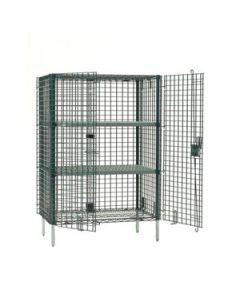 """Metro SEC35K3  21"""" x 50"""" Stationary seal Security Unit w/out Shelves"""