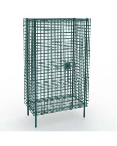 """Metro SEC56K3  27"""" x 62"""" Stationary seal Security Unit w/out Shelves"""