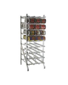 New Age 1250 Can Storage Rack - 162 #10 Can Capacity