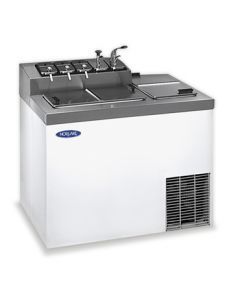 "Nor-Lake  ZF124WVS/0 43"" Ice Cream Dipping/Topping Cabinet"