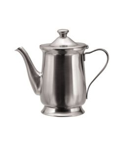 Oneida Post Road Coffee Pot 10 oz, w/ base - 18/10 Stainless