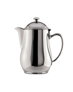 Oneida Jazz Coffee Pot, Short Spout, 64 oz - 18/10 Stainless
