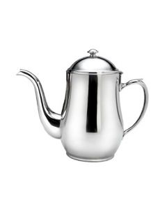 Oneida Jazz Coffee Pot, Goose Neck, 64 oz - 18/10 Stainless