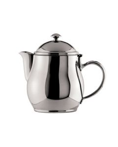 Oneida Jazz Teapot, Short Spout, 20 oz - 18/10 Stainless