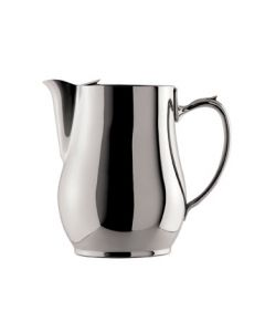 Oneida Jazz Water Pitcher, w/ Guard, 64 oz - 18/10 Stainless