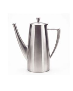 Oneida Stiletto Long Spout Coffee Pot 44 oz - 18/10 Stainless