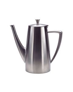 Oneida Stiletto Long Spout Coffee Pot 68 oz - 18/10 Stainless