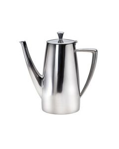 Oneida Stiletto Long Spout Coffee Pot, 68 oz - 18/10 Stainless