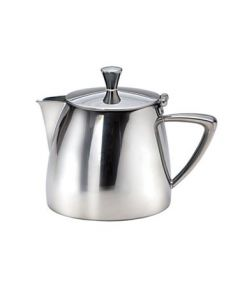 Oneida Stiletto Short Spout Teapot, 17 oz - 18/10 Stainless