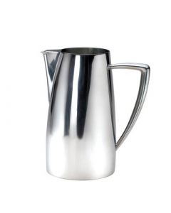 Oneida Stiletto Water Pitcher, 68 oz - w/o ice guard - 18/10 Stainless