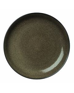 """Oneida L6753059163 Rustic 12-1/4"""" Chestnut Coupe Plate"""