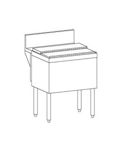"Perlick TSD24IC 24"" Underbar Ice Chest"