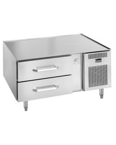 """Randell 20048SC-C4 48"""" 1-Section 2-Drawer Refrigerated Equipment Stand"""