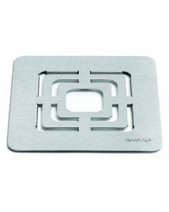"""Rosseto SM139 10"""" x 10"""" Square Stainless Steel Grill Top"""