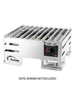 """Rosseto SM216 Mini-Chef 13"""" x 15"""" x 6.85"""" Stainless Steel Food Warmer Base"""