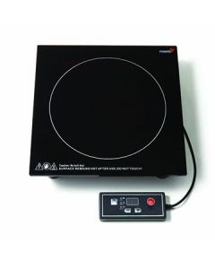 "Rosseto SMM021 Multi-Chef 11.8"" x 11.8"" x 2.8"" Black Induction Heater"