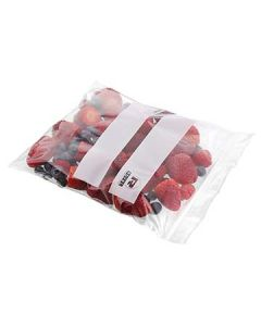 Royal Paper ZBQ78 Zip-It Double Zipper Quart Plastic Bags