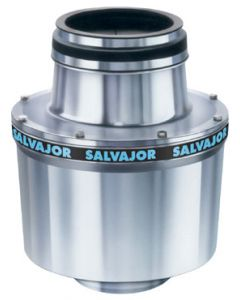 "Salvajor 2 HP Disposer, 6-1/2"" Sink Assembly w/Auto Reverse & Water Saving Switch"