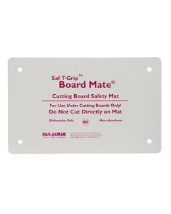 "San Jamar CBM1016 Saf-T-Grip Board-Mate Cutting Board, 10"" x 16"""