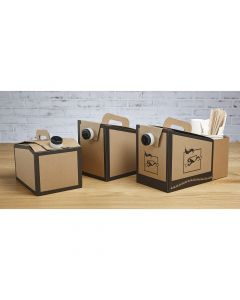 Sabert 7175 96oz Coffee Take Out Container