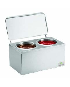 Server 92020 Double Ice Cream Cone Dip Warmer - JAR NOT INCLUDED