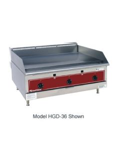 """Southbend HDG-36 36"""" Heavy Duty Countertop Gas Griddle - Thermostatic"""