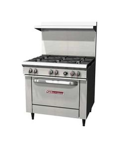 "Southbend S36D S-Series 36"" Gas Restaurant Range w/Standard Oven"