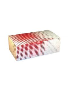 Specialty Quality Packaging SPQP3505 Red Plaid 9x 5x 3 Take Out Carton