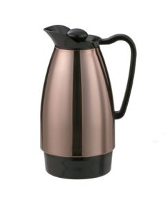 Service Ideas CGC101CP Classic Style 1 Liter Copper Coffee Carafe