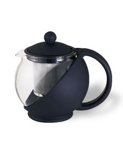 Service Ideas TB600CC 20 oz Black Classic Tea Press