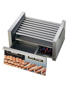 Star 30CBD Grill-Max 30 Hot Dog Roller Grill - Chrome Rollers