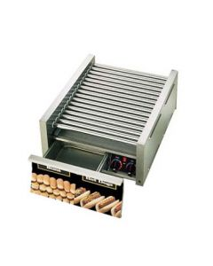 Star 45SCBD Grill-Max Pro 45 Hot Dog Roller Grill - Duratec Rollers