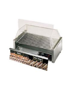 Star 50CBD Grill-Max 50 Hot Dog Roller Grill - Chrome Rollers